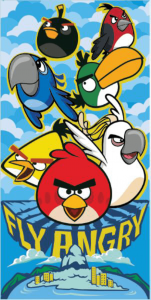 Badlaken Angry Birds Fly Angry