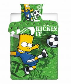 Bart Simpson dekbedovertrek Football