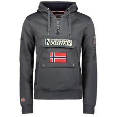 Geographical Norway Gymclass sweater donker grijs