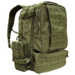 Stealth Assault rugtas 60 L legergroen