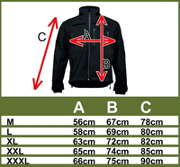 101-INC KSK commando softshell jack khaki